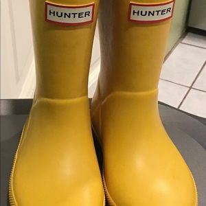 Toddler Hunter Rainboots, Size 9/10